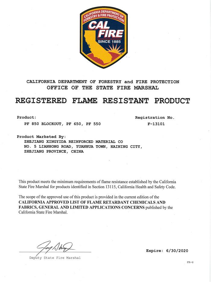 منع حرائق كاليفورنيا